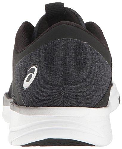 Asics Gel-Fit Tempo 3 - Zapatillas de entrenamiento cruzado para mujer, Negro (Negro/Plateado/Blanco), 35.5 EU