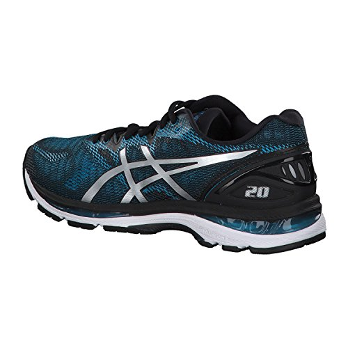 Asics Gel-Nimbus 20, Zapatillas de Running para Hombre, Azul (Island Blue/White/Black 4101), 41.5 EU