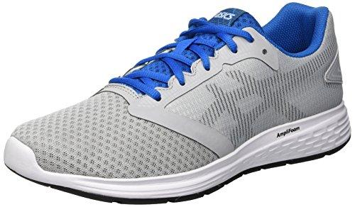 Asics Patriot 10 Zapatillas de Running Hombre, Gris (Mid Grey/Race Blue 020), 42 EU
