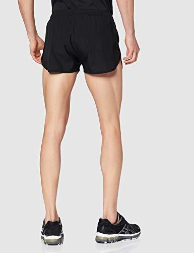 ASICS Silver Split Short Pantalones Cortos, Negro (Black 2011a008-001), S para Hombre