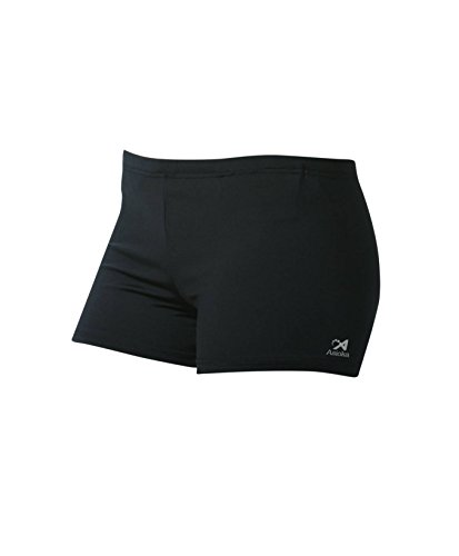 Asioka 113/15 Pantalón Corto Deportivo, Mujer, Negro, L