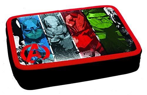 Avengers Pencil Case - Double Decker (Filled) - Schulmäppchen - trousse a Crayons - astuccio - plumier 337-27100