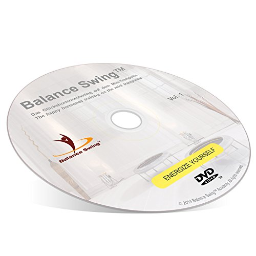 Balance Swing / The happy hormones training on the mini trampoline / ENERGIZE YOURSELF / Fitness DVD