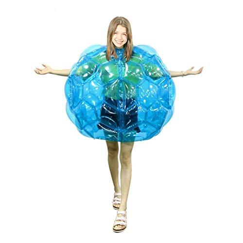 Ballylelly Cuerpo Inflable Bumper Balls Bubble Soccer se Adapta a Mucho PVC Funny Body Zorb Ball para niños 24