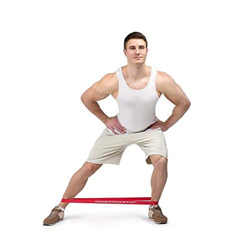 Bandas Elasticas de Musculación y Fitness / Cintas Elásticas de Resistencia con Guía de Ejercicios, eBook en Español y Bolsa, Set de 5 Bandas para Yoga, Crossfit, Entrenamiento de Fuerza, Pilates, Fisioterapia