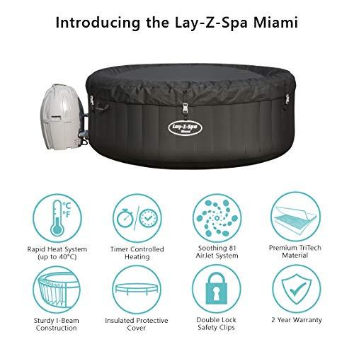 Bañera de hidromasaje Lay-Z-Spa