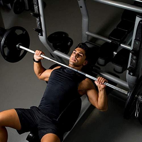 Barra de Entrenamiento para bíceps y tríceps,Longitud 150 cm/180cm/220cm, Diámetro Ø50mm,Barra de Gimnasio para Entrenamiento Fitness con Pesas en Casa