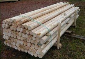 Barras de obstáculos, barras de salto, 50 unidades, 10 cm de diámetro, 3 m de longitud