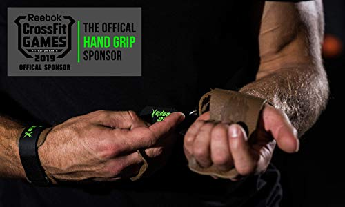 Bear KompleX 3 hole hand grips and gymnastics grips Great for Cross Training, pullups, weight lifting, chin ups, training, exercise, kettlebell, and more. Protect your palms from rips! MED 3hole BLK