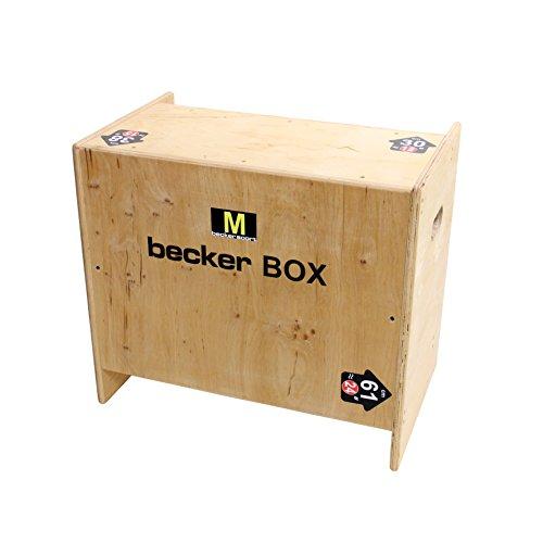 Becker-Sport Germany Becker Box M BSG 28963 - Caja para plyo (5 alturas de salto)