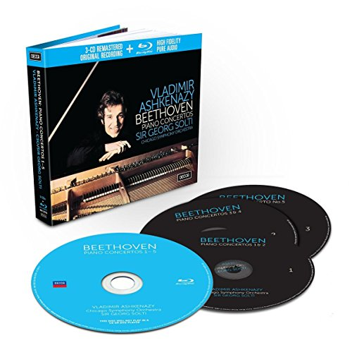 Beethoven: the Piano Concertos (Livre-Disque 3CD+BluRay - Tirage Limité)