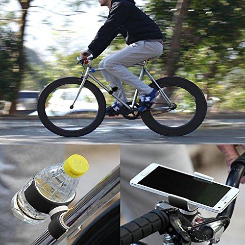 Beileer - Soporte en horquilla universal para teléfono móvil para Smartphones iPhone 6 6s plus Samsung Galaxy o botellas de agua para motocicleta o bicicleta