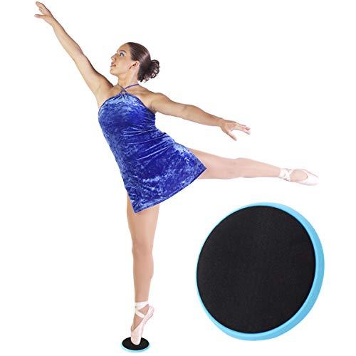 BESPORTBLE Dance Spinner Board Portable Ballet Patinadora sobre Hielo Girando Pirouette Board Gymnastics Disco Giratorio Suministros de Fitness para Mujeres Hombres Color Aleatorio