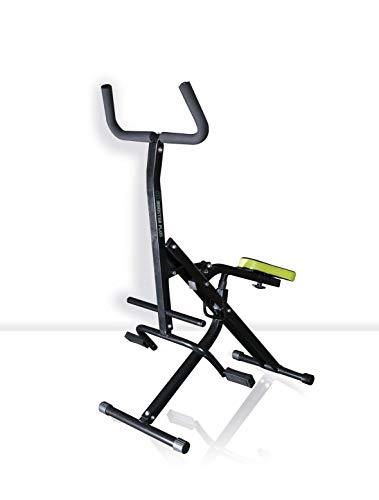 BEST DIRECT Ab Booster Plus Visto en TV Máquina de Musculación Multifuncional con Miniordenador Entrenamiento Fitness Completo con Ejercicios Cardiovasculares y de Tonificación