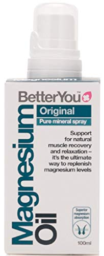 Better You 0200520100 Magnesio Aceite Spray Corporal 100 ml - 500 g