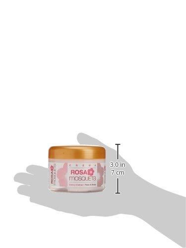 Bionatural 11420 - Crema facial, corporal y de manos con aloe y rosa mosqueta, 250 ml