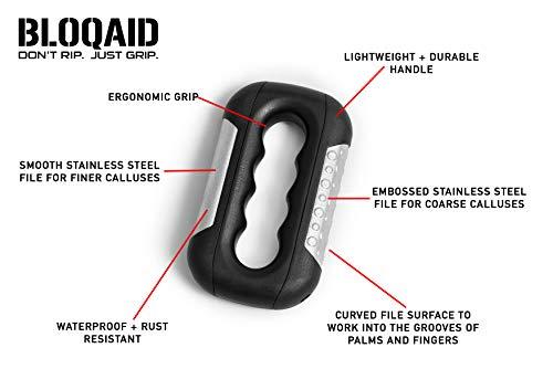 Bloqaid Producto para Eliminar los Callos de Las Palmas de Las Manos de Atletas: Guantes sin Piedra pómez Que eliminan los Callos en 5 Minutos