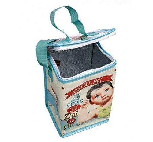 Bolsa ISOTERMO Formato Biberon para Bebe de Diseño Vintage PARIS 410810 7084