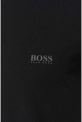 BOSS T-shirt Rn 2p Co/el Camiseta, Negro (Black 1), Large (Pack de 2) para Hombre