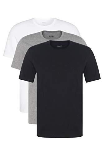 BOSS T-Shirt RN 3p Co Camiseta para Hombre, Multicolor (Assorted Pre-Pack 999), Small, pack de 3