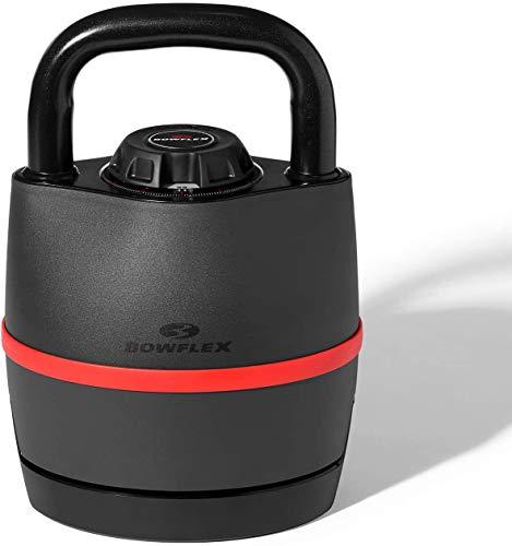 Bowflex SelectTech 3.5-18 kg Kettlebell, Unisex-Adult, Negro/Rojo, Taglia Unica