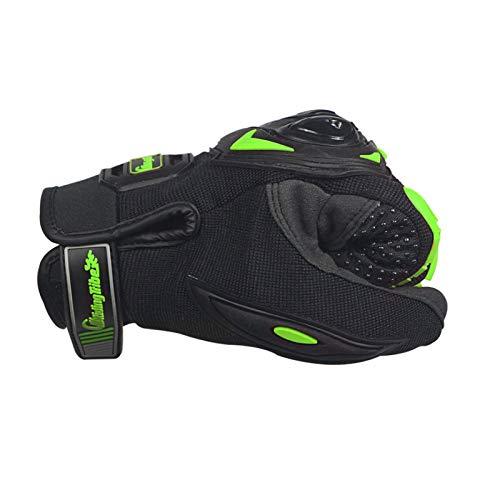 Bruce Dillon Guantes de Motociclismo para Hombre Guantes de Motocross Todoterreno con Dedos completos Tamaño: ML XL 3 Colores - 1 XM