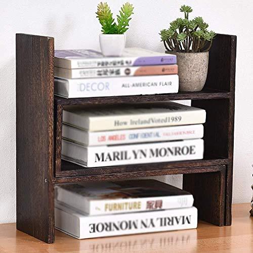 Cajas de joyería DJSSH DIY Escritorio de Madera Estante, Creativo Oficina Estante de Almacenamiento, Home Box Office Almacenamiento DJSSH