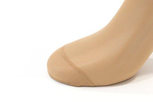 Calcetines Monouso Premium Para Probar Calzado (Beige)