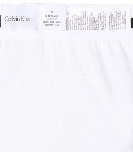 Calvin Klein 3P Hip Brief, Calzoncillos para Hombre (3 unidades), Multicolor (Blanco/Gris/Negro 998), Large