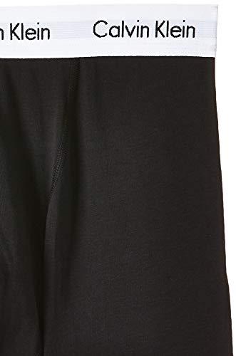 Calvin Klein Hombre - Pack de 3 bóxers de tiro medio - Cotton Stretch, Negro, L, (Pack de 3)
