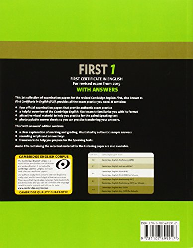 Cambridge first certificate in english. For updated exam. Student's book. With answers. Per le Scuole superiori. Con espansione online: Cambridge ... Book with Answers (FCE Practice Tests)