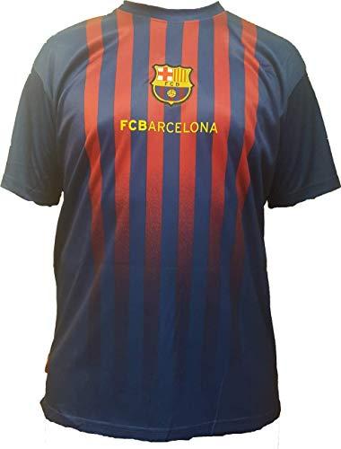 Camiseta de Fútbol Lionel Leo Messi 10 Barcelona Barça Home Temporada 2018-2019 Replica Oficial con Licencia - Todos Los Tamaños NIÑO y Adulto (XXL Extra Extra Large)