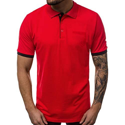 Camiseta T Race DE Manga Corta para Hombre, Running, Atletismo, y Deportes en General. (M, Blanco)