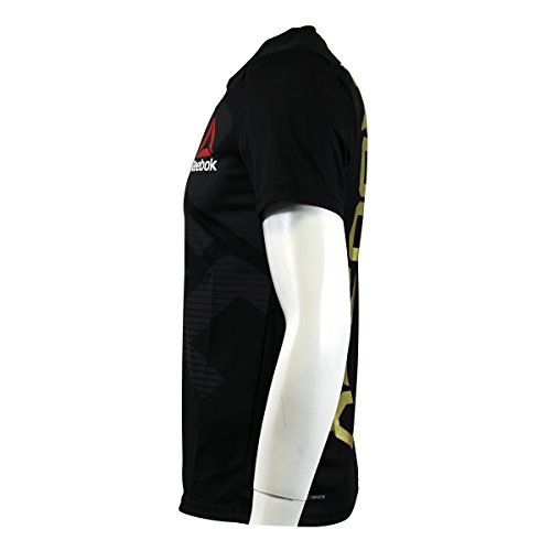 Camiseta térmica de hombre Reebok Ufc Fk Cmg, color Schwarz AZ9010, tamaño large