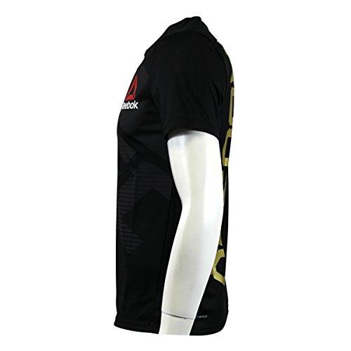 Camiseta térmica de hombre Reebok Ufc Fk Cmg, color Schwarz AZ9010, tamaño medium