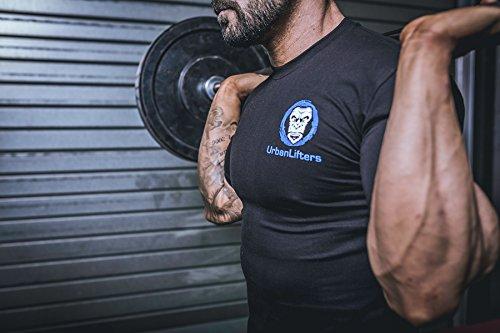 Camisetas de Entrenamiento Atleta Fit - Urban Lifters Gym/Crossfit T-Shirt (M)