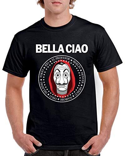 Camisetas La Colmena 1743-Bella Ciao (Andriu) XL
