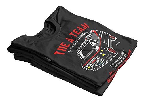 Camisetas La Colmena 4209-Parodia, The A Team XL