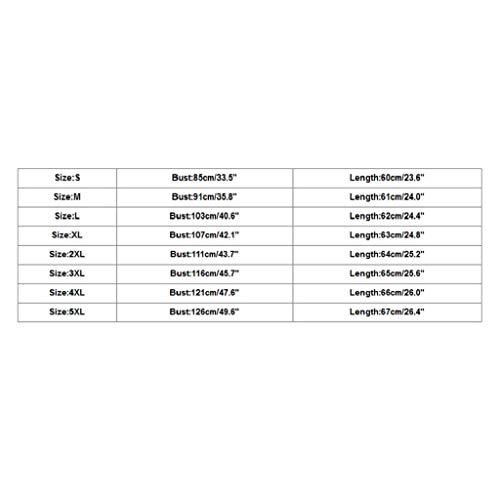 Camisetas Sin Mangas Mujer SHOBDW Verano Playa Blackless Gimnasio Deportivo Entrenamiento Blusa Estampada Carta Camisas De Cuello Redondo Chaleco Tops Sexy Camiseta Mujer Casual S-5XL(Negro,L)