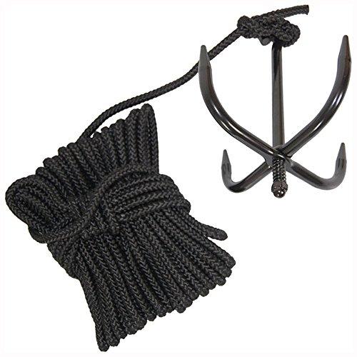 Camo Outdoor Military Heavy Duty Cadet - Utensilio ninja/kangignawa de supervivencia para trepar (gancho y+ cuerda de nailon)