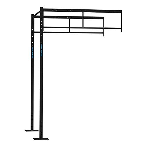 CAPITAL SPORTS Dominate R-Add 173.173 Juego de accesorios de ampliación 4 x estaciones PU (Torre jaula musculación profesional, ejercicios entrenamiento, extensible, rack fijación pared)