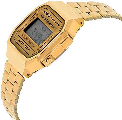 Casio Collection A168WG-9EF, Reloj Unisex, Oro