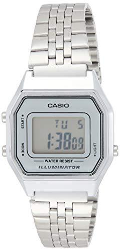 Casio Collection LA680WEA-7EF Reloj de pulsera para Mujer, Gris