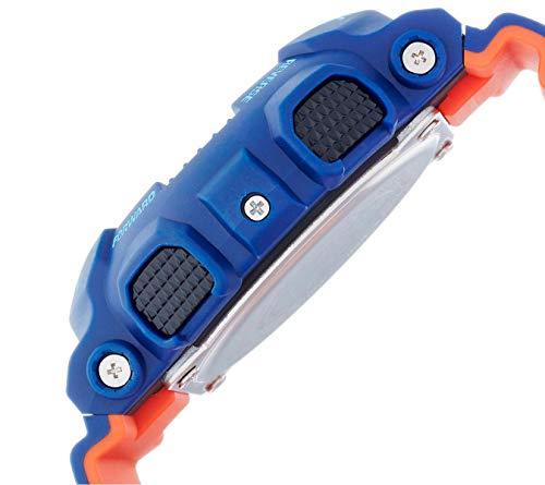 Casio G-SHOCK Reloj Analógico-Digital, 20 BAR, Azul, para Hombre, GA-100L-2AER