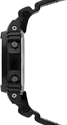 Casio G-SHOCK Reloj Digital, Reloj radiocontrolado y solar, 20 BAR, Negro, para Hombre, GW-M5610BB-1ER