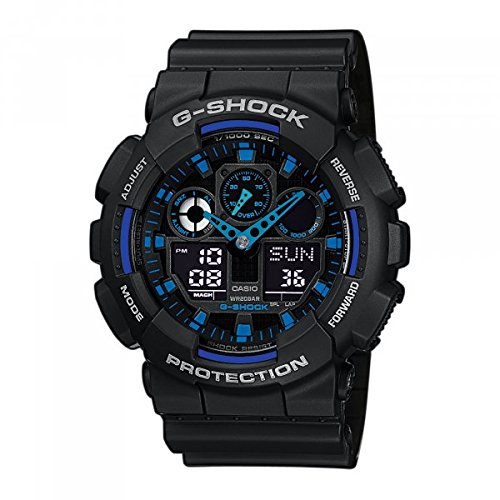 Casio GA-100-1A2ER - Reloj (Resina, Resina, mineral, CR1220, 2 año(s), 70 g)