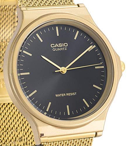 Casio Reloj Analógico para Unisex Adultos de Cuarzo con Correa en Acero Inoxidable MQ-24MG-1EEF