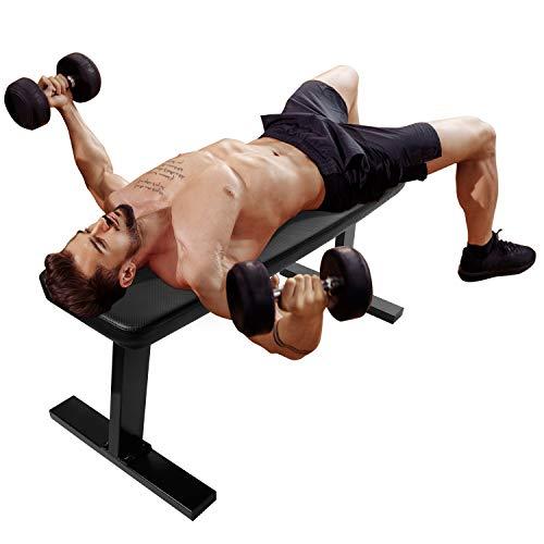 CCLIFE Banco de Pesas Banco de musculación Entrenamiento Carga 200kg, Color:DHNTL011A0000000