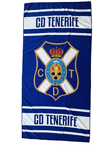 CD Tenerife Toaten Toalla, Blanco/Azul, Talla Única