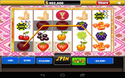 Cherries Action Slots With Fruits Free Slots Game for Kindle Fire HD Download free casino app, play offline whenever, without internet needed or wifi required. Best video slots game new 2015 casino games free